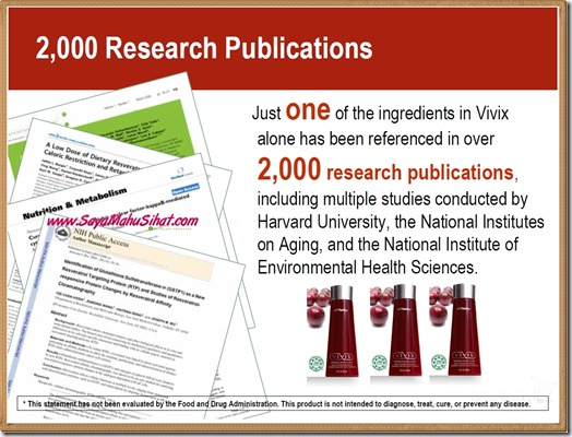 2000 Research Publications_Vivix Shaklee