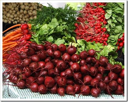 beets, radish, carrots, turnips migliorelli
