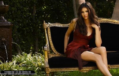 nina dobrev linda sensua sexy sedutora fotos Vampire Diaries desbaratinando (25)