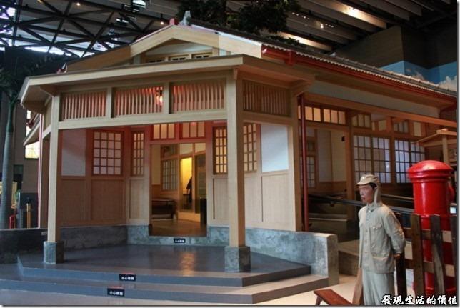 台南-國立台灣歷史博物館。日據時代的日本利用其無所不在及無所不管的派出所統治整個台灣,建立起維持四十年的殖民政府。