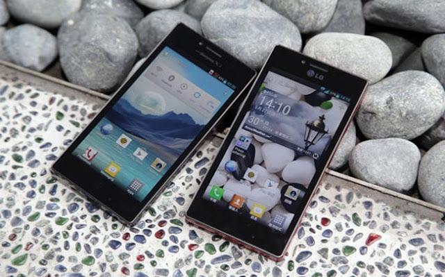 Android terbaru Dari LG Optimus GJ yang Tahan Air