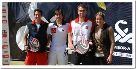 Uri Botello y Raúl Díaz, en masculina, se impusieron en primera categoría