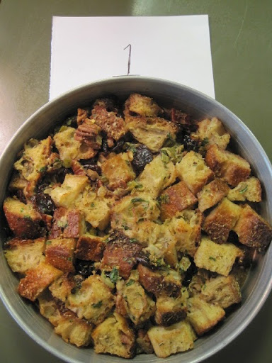 Cherry-Pecan Stuffing (with toasted white bread)