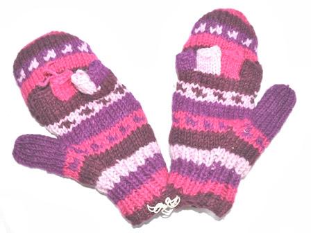 Mitten + Glove Half Open Style Glove