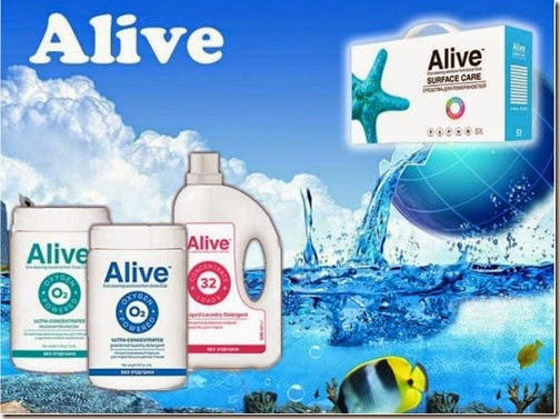Alive™ LAUNDRY CARE СРЕДСТВА ДЛЯ СТИРКИ