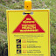 Health And Safety Warnings In Maori and English - Tauranga, New Zealand