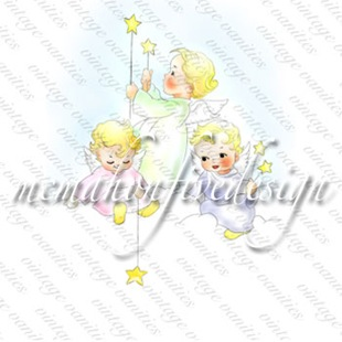 cherub-digital-stamps