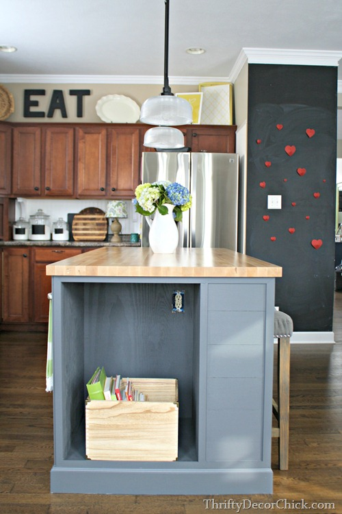 The Last Final Kitchen Island Ever From Thrifty Decor