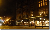 harrogate betty's at night