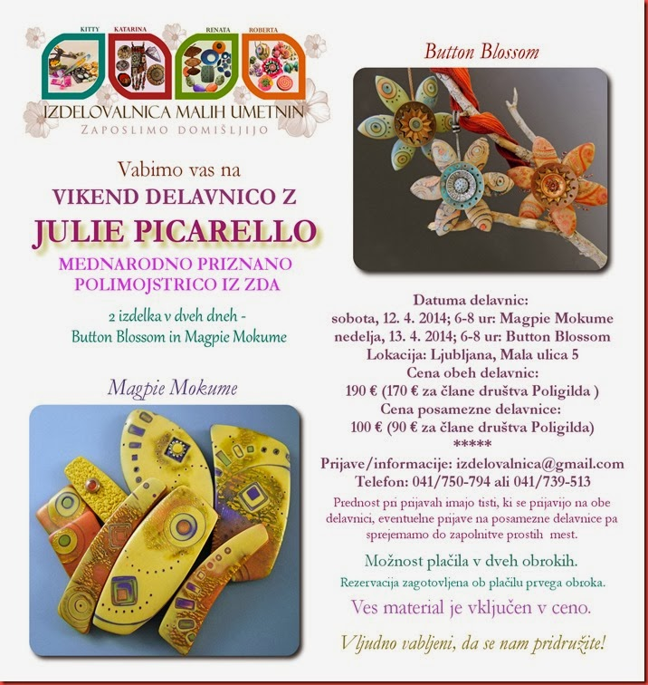 Vabilo Julie Picarello