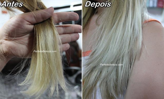 Keraton prata tonalizar cabelos loiros