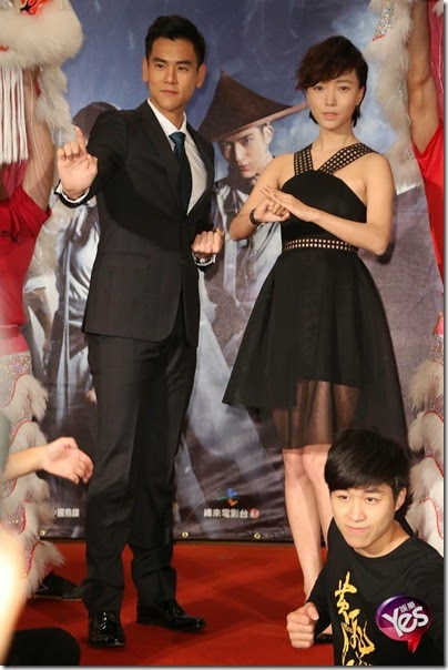 2014.11.27 Eddie Peng during Rise of the Legend - 彭于晏 黃飛鴻之英雄有夢 台北 07