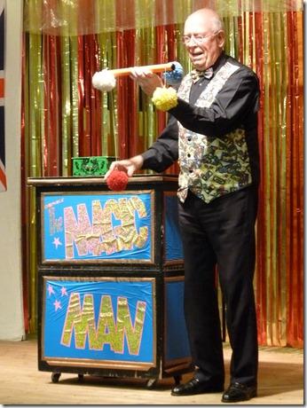 Diamond Jubilee Concert (Sat 2-6-12) - magician Richard Batty