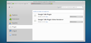 Google Talk Plugin in Firefox su Linux