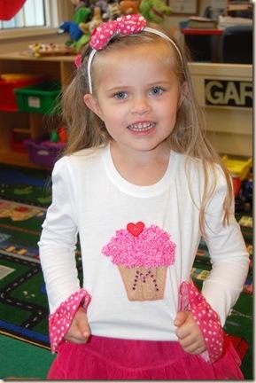 cupcake shirt set