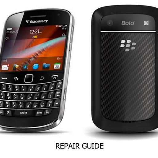 Cara Bongkar Blackberry Bold 9900