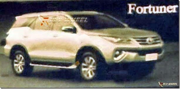 Vazam primeiras imagens do novo Toyota SW4 - Novidades