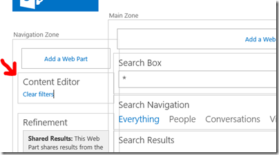 As long as the query originated from the search start page, and you have not changed it, then this will work as your query will be part of the url with ? ...
