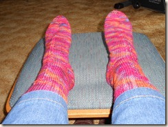 Cherry Tree Hill Supersock DK Champlain Sunset