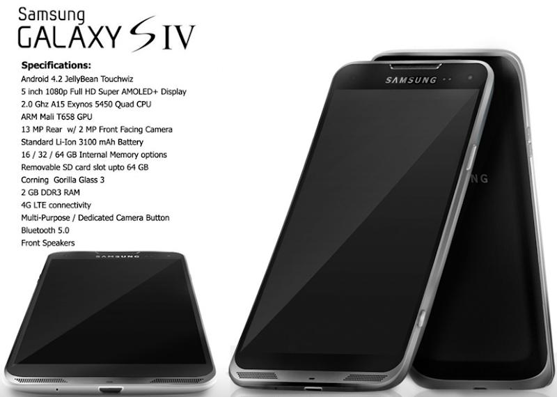 Galaxy S4 chega às lojas no dia 8 de maio