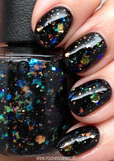 OPI Comet in the Sky (over black)