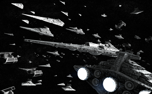 cool star wars photo star cruiser fleet drawing