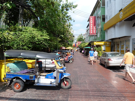 Tuk tuk in Khao San Road