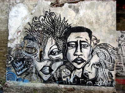 street art in Getsemaní, Cartagena