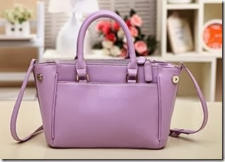 U3728 Purple (209.000) - PU Leather, 26 x 21 x 11