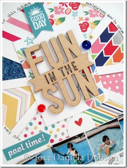 Fun in the sun close by Daniela Dobson