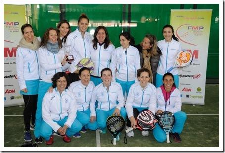 Equipo Femenino Chamartin Campeonas Madrid 2015
