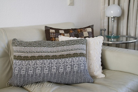 Fall DIY Sweater Pillows 3