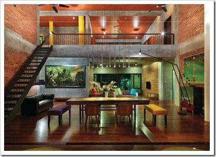 Green tropical house 3