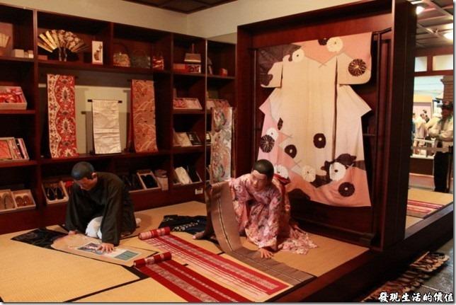 台南-國立台灣歷史博物館。日據時代的和服店