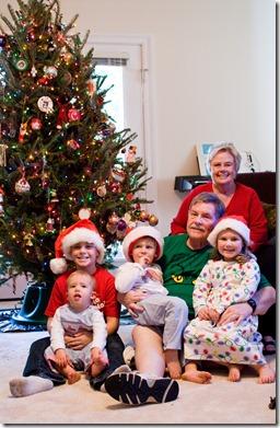 with grandkids