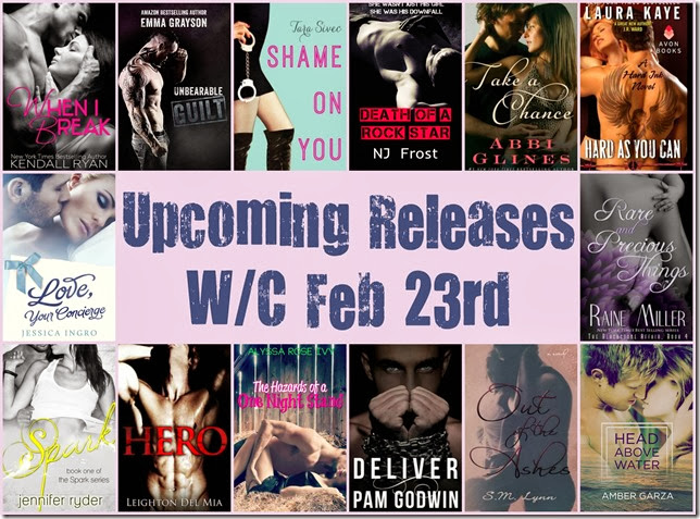 upcoming releases wc feb 23
