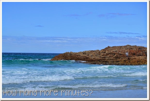 How Many More Minutes? ~ Camping at Friendly Beaches