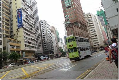 Ding Ding Car - HK tram