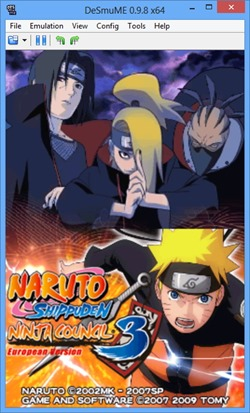 Free Download Naruto Shippuden Ninja Council 3 European Version (English) Nintendo DS Game Rom