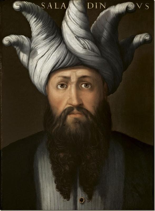 Saladin peint par Cristofano dell Altissimo