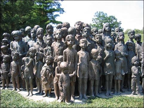 Lidice Children's Memorial