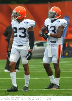 'Joe Haden and T.J. Ward' photo (c) 2013, Erik Drost - license: http://creativecommons.org/licenses/by/2.0/