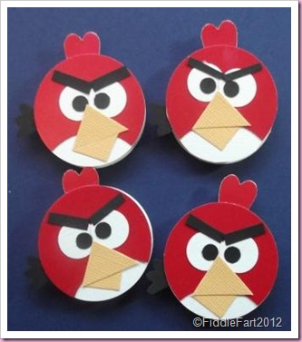 Elizabeth Shaw Mints Angry Bird Favour