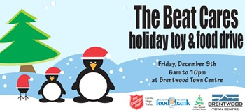 The Beat Cares Holiday Toy & Food Drive