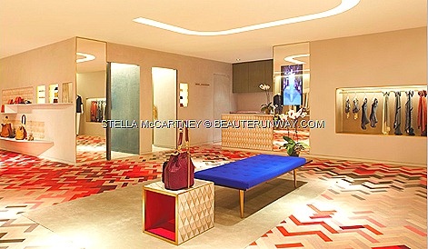 STELLA McCARTNEY dress bags jackets pants shirts shoes bags sunglasses lingerie SPRING SUMMER 2012 FALL WINTER COLLECTION SINGAPORE FLAGSHIP BOUTIQUE HILTON SHOPPING GALLERY