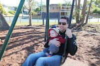 Swings with Daddy