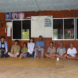 Photograph 2: With the village chief of Rh. Mawang and other interviewees