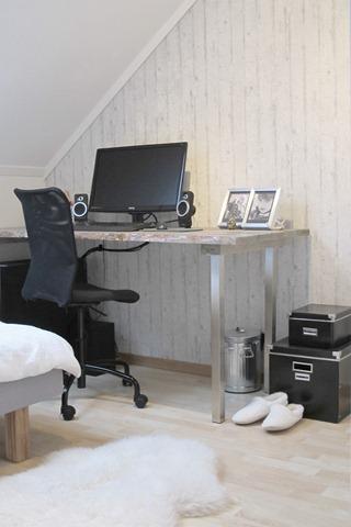 Lillpastill: kontor // gjesterom