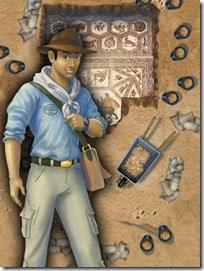 Dig Quest Israel Lod Mosaic iPad