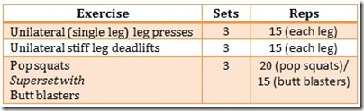 glute work-out modified